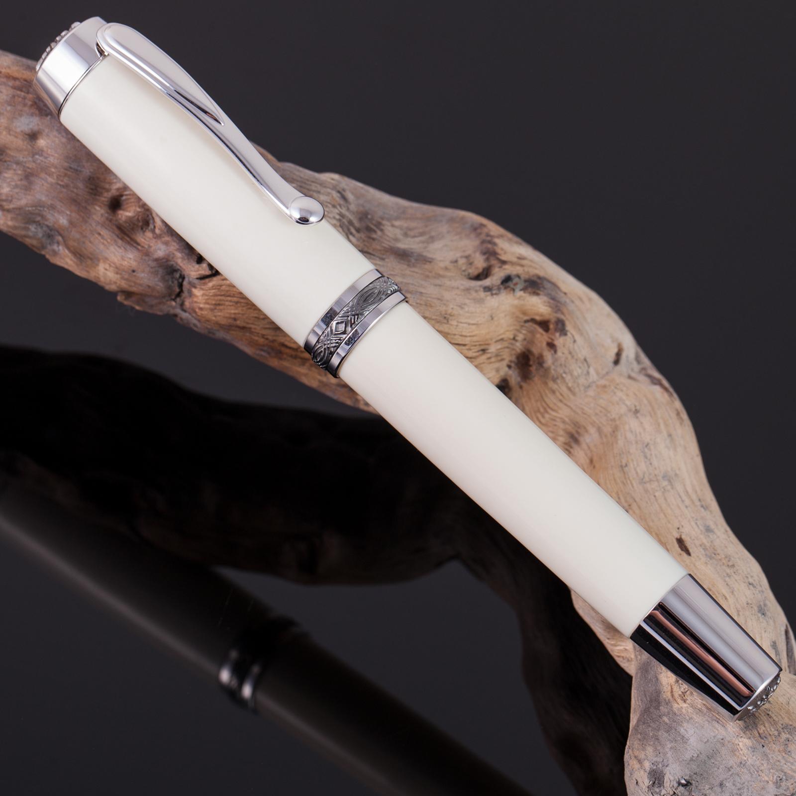 Füller-Mammut-Füllfederhalter-Unikat-Rarität-Mammutelfenbein-Gold-003