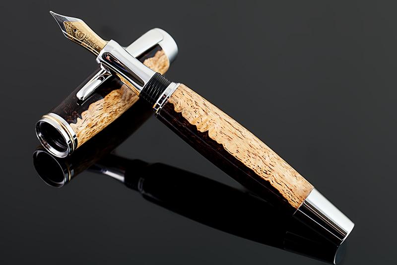 Füllfederhalter-Grenadill-Holz-001