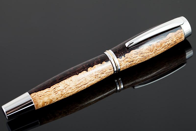 Füllfederhalter-Grenadill-Holz