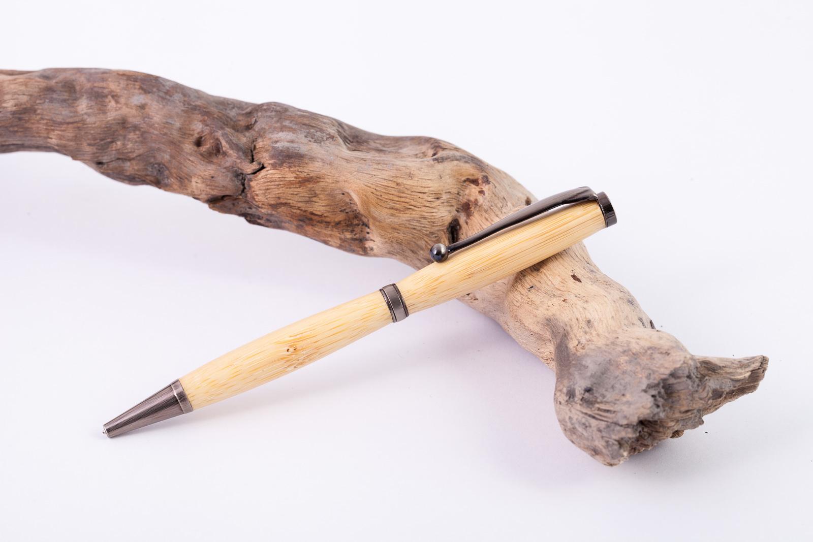 Holz-Dreh-Kugelschreiber-Bambus-002