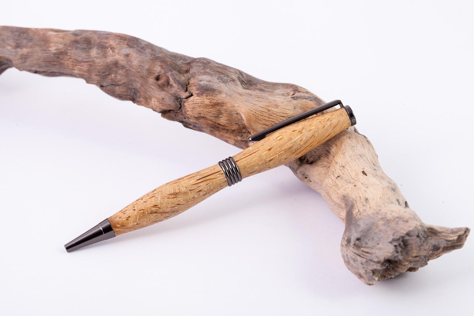 Holz-Dreh-Kugelschreiber-Bambuswurzel