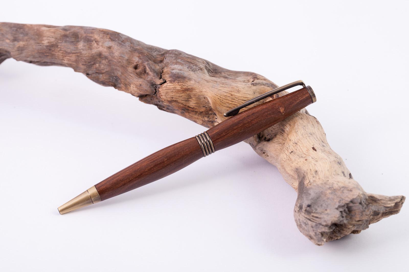Holz-Dreh-Kugelschreiber-Cocus