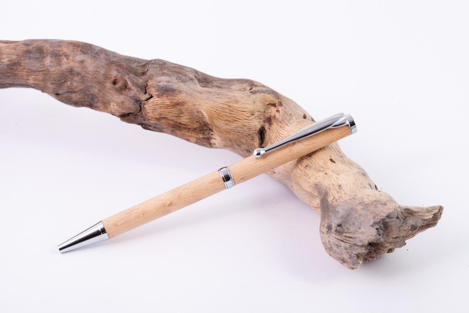 Holz-Dreh-Kugeschreiber-Hickory