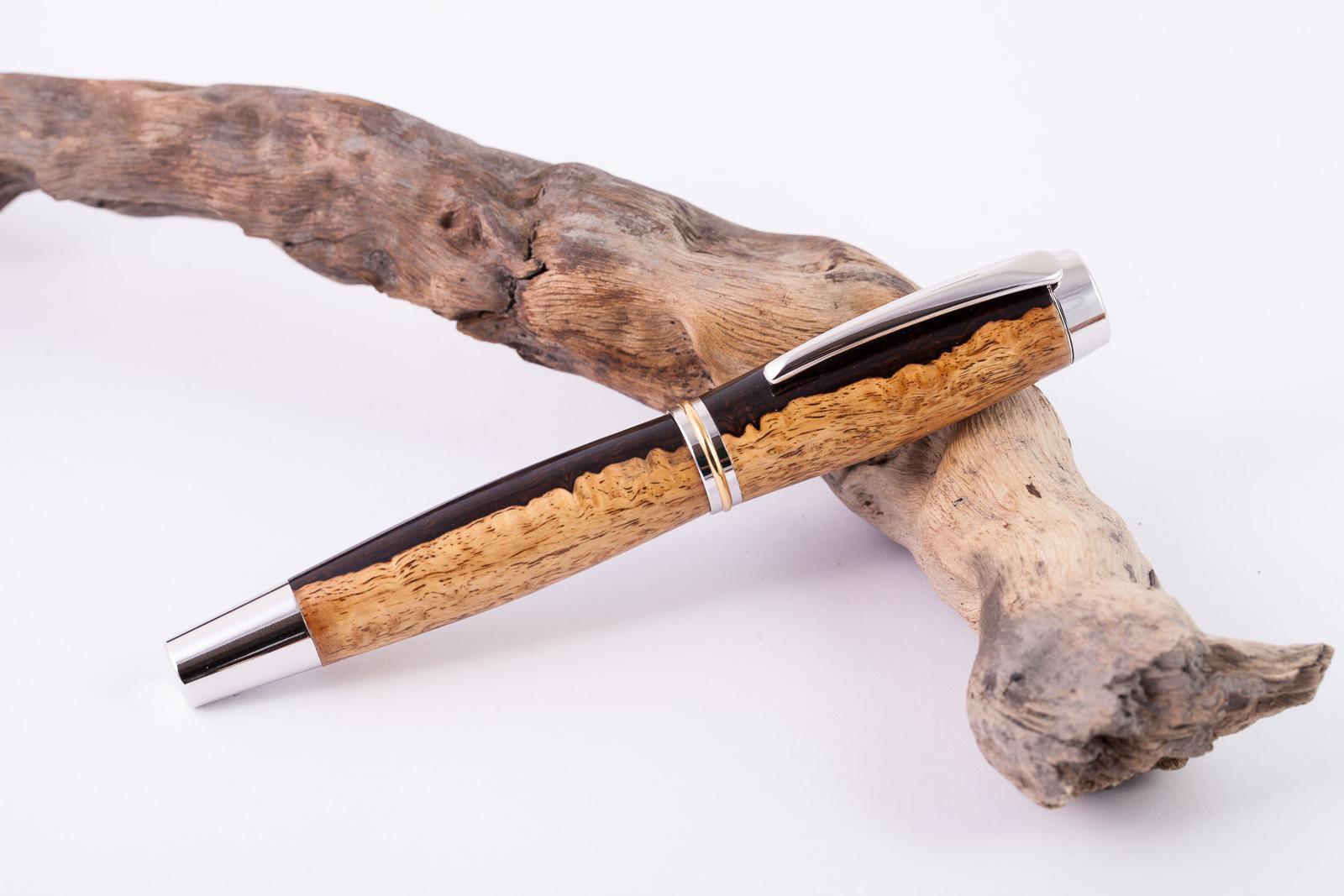 Holz-Füllfederhalter-Grenadill