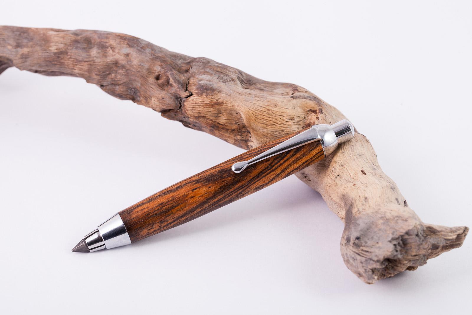 Holz-Fallminenbleistift-Bocote